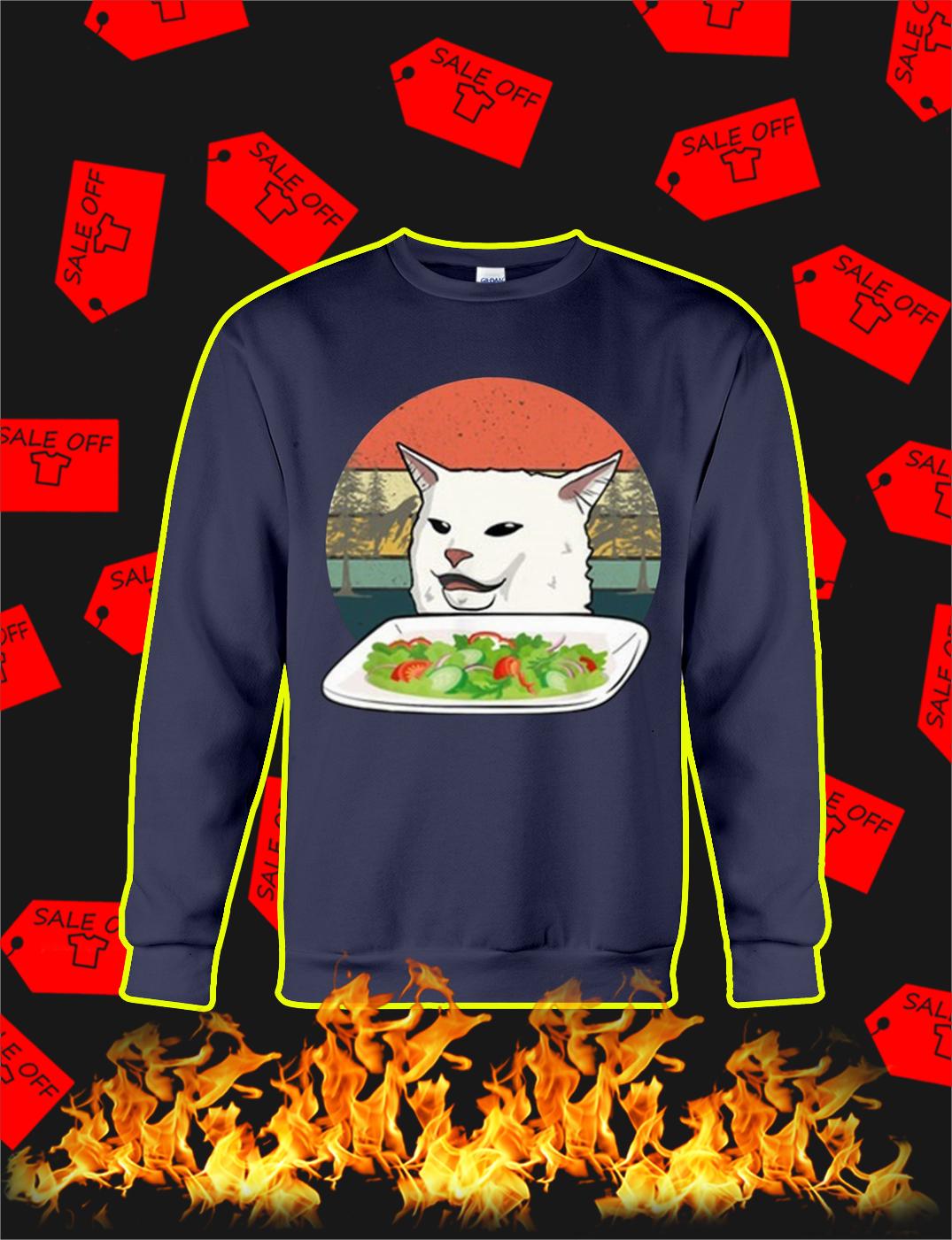Smudge the Cat Meme Vintage sweatshirt