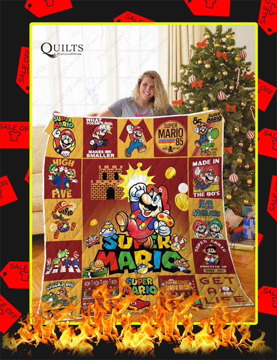 Super Mario Quilt-Super King