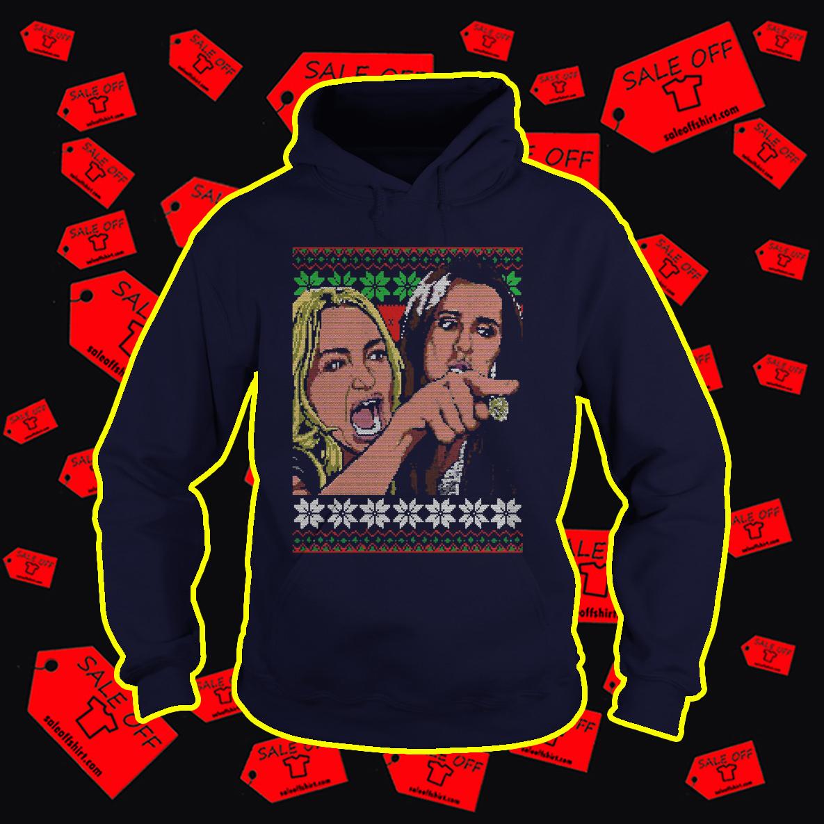 Taylor Armstrong and Kyle Richards Meme Ugly Christmas Hoodie