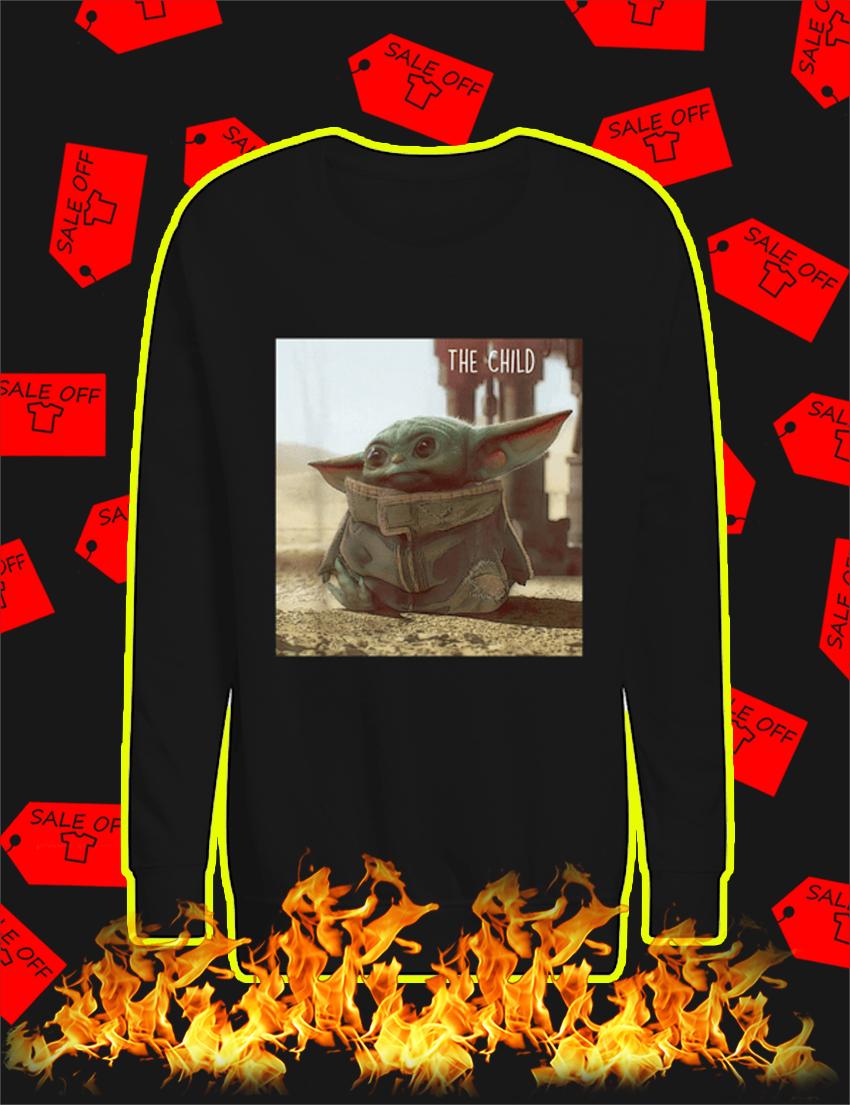 The Child Baby Yoda Star Wars Kid sweatshirt