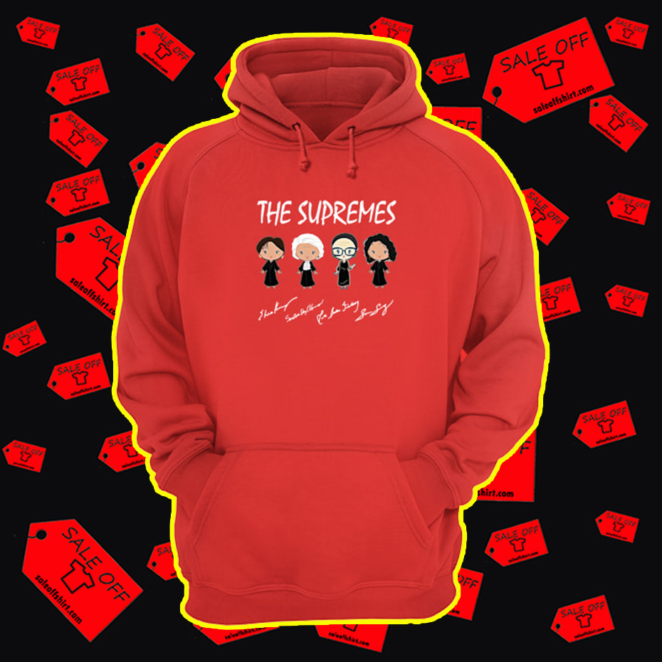 The Supremes Signature hoodie