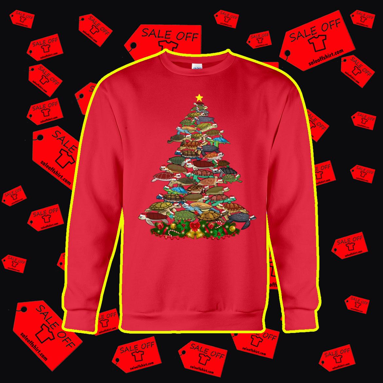 Turtle Christmas Tree sweatshirt