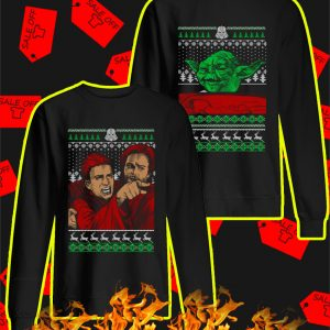 Angry Anakin Yelling At Yoda Star Wars Meme Christmas Sweater