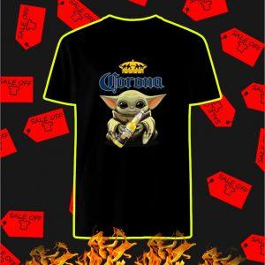 Baby Yoda Hug Corona shirt