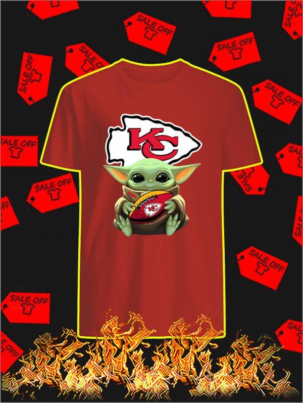 Kansas City Chiefs Baby Yoda shirt