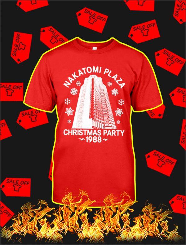 Nakatomi Plaza Christmas Party 1988 shirt