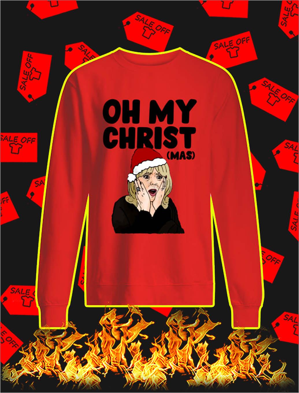Oh My Christ Christmas sweatshirt