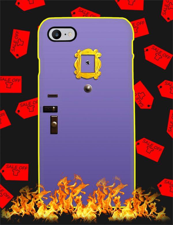 Purple Friends Door Phone Case