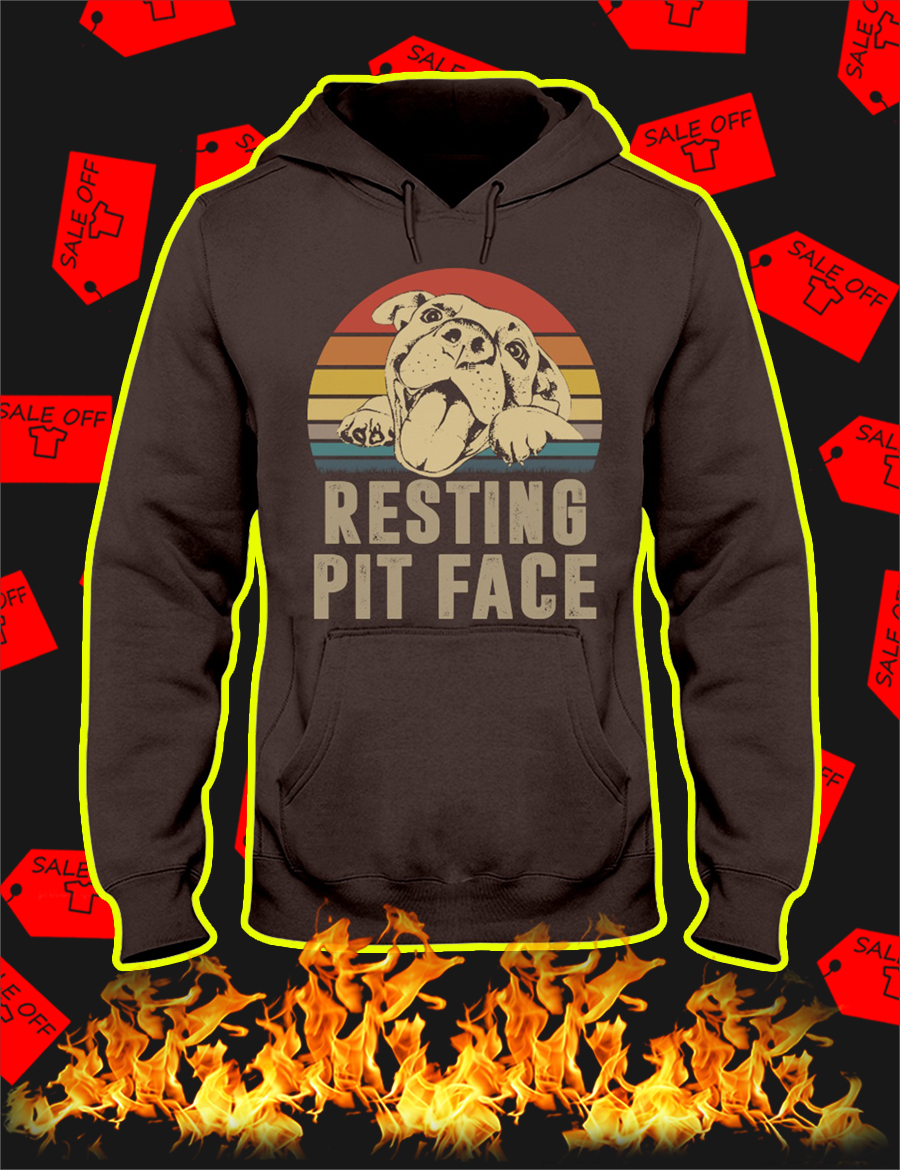 Resting Pit Face Hoodie