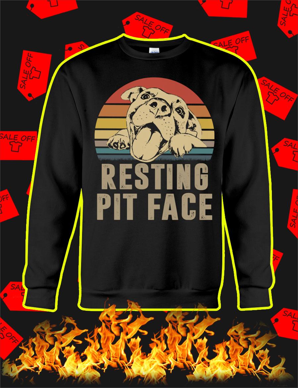Resting Pit Face Sweatshirt