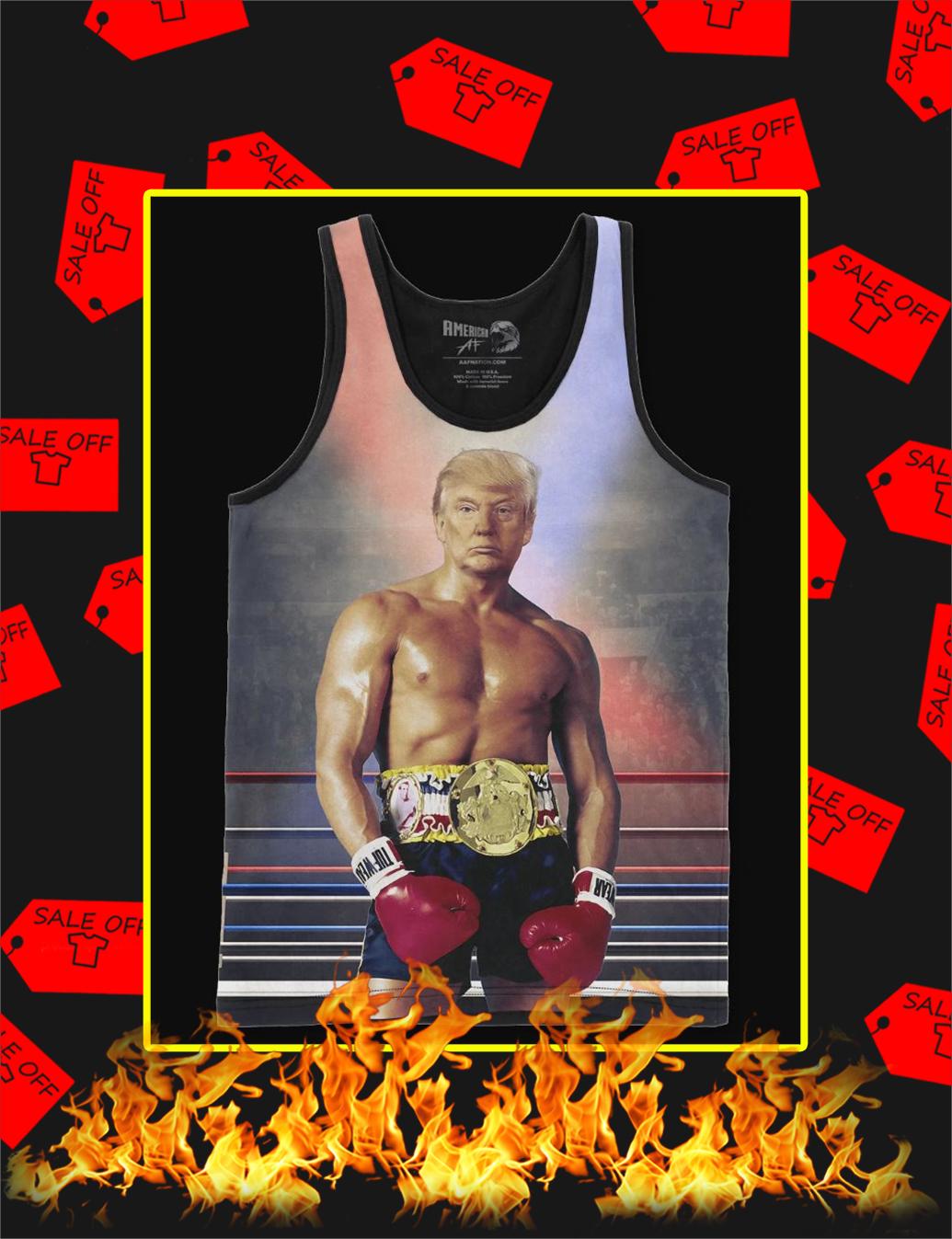 Rocky Trump 3d tank top