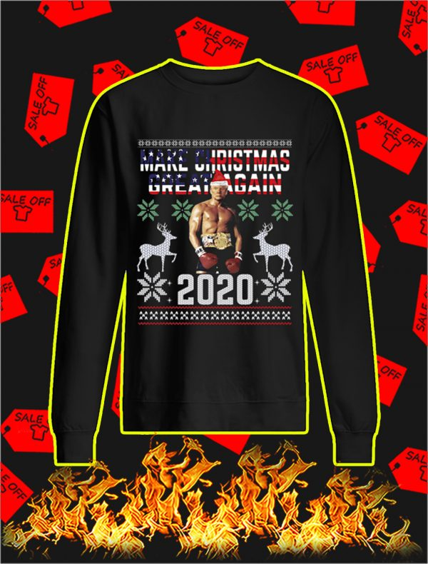 Rocky Trump Make Christmas Great Again 2020 Sweater