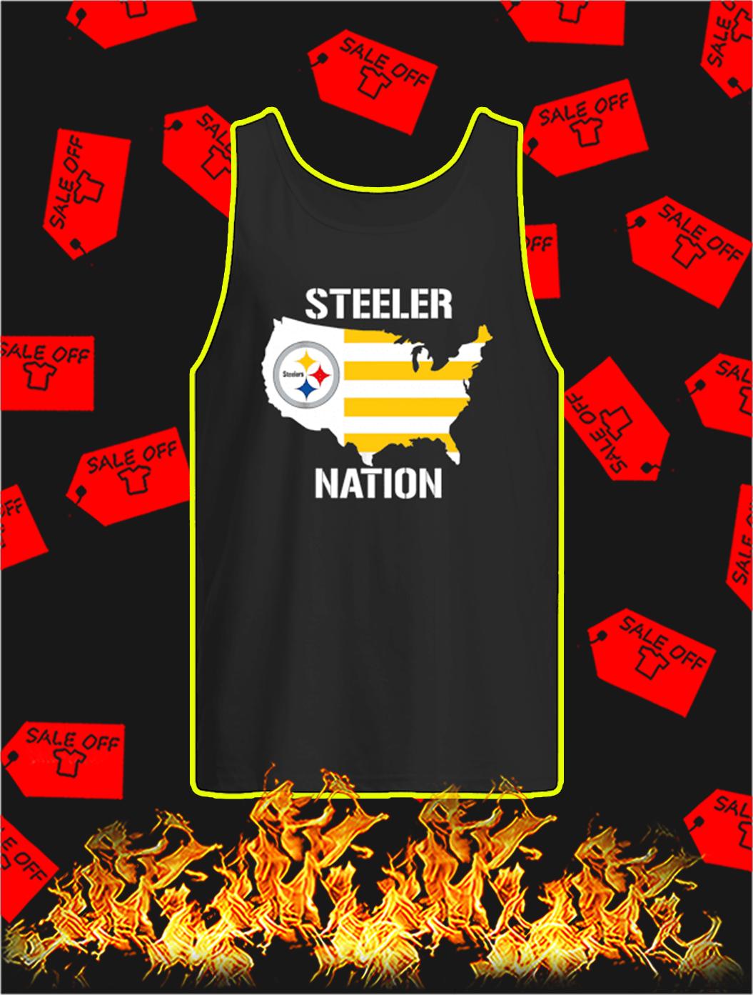 Steeler Nation tank top