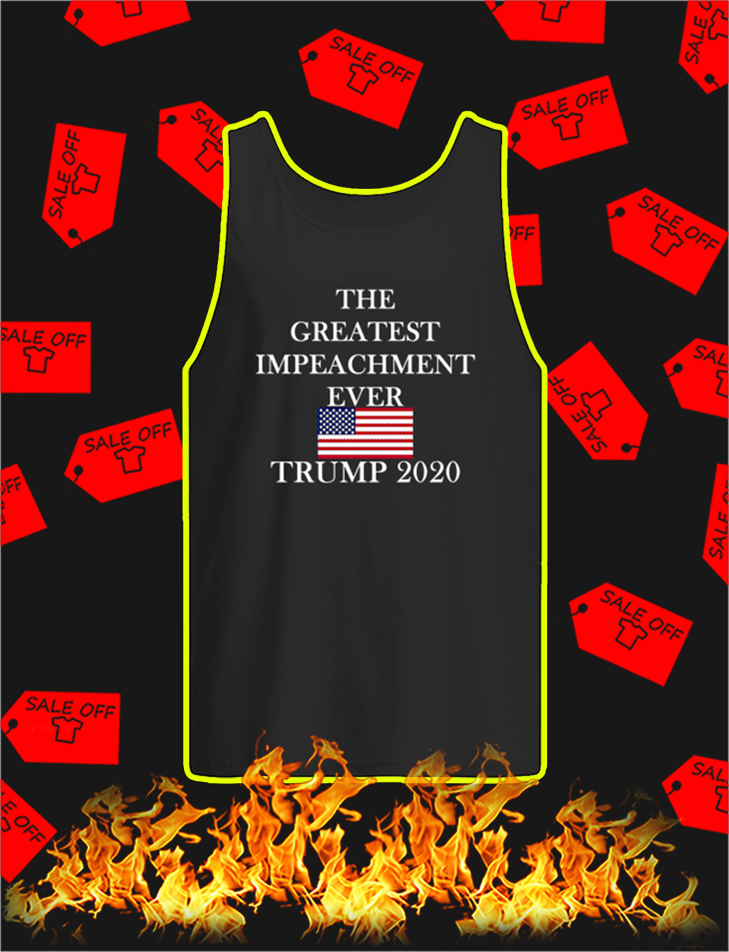 The Greatest Impeachment Ever Trump 2020 tank top