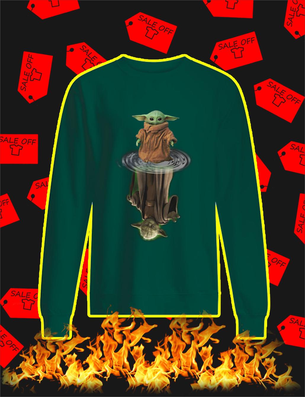 Yoda Reflection sweatshirt