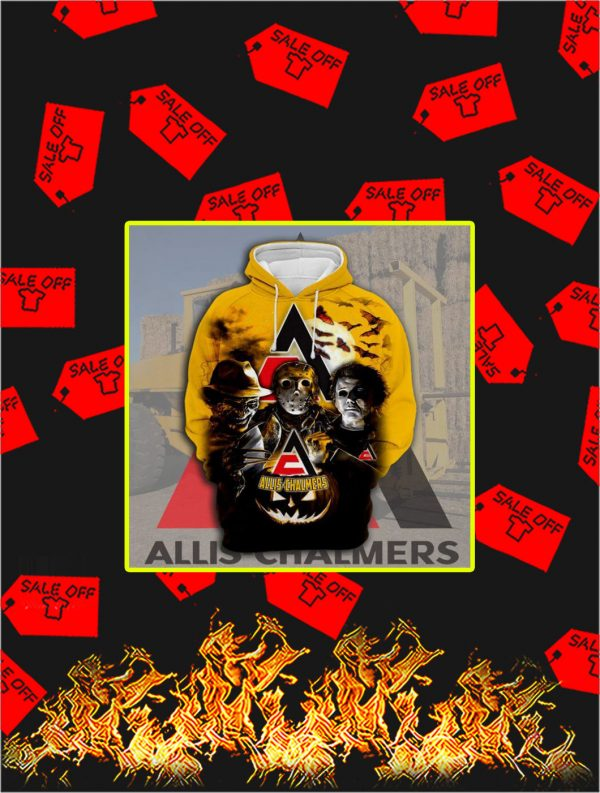 3D Printed Allis Chalmers Horror Halloween Hoodie
