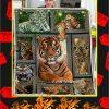 3D Tiger Blanket