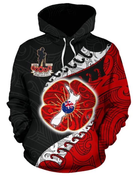 Anzac New Zealand 3D Hoodie