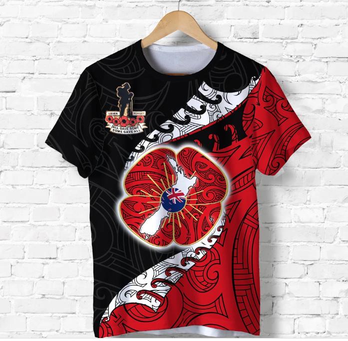 Anzac New Zealand 3D T-shirt