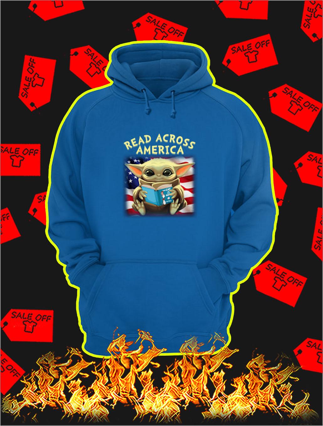 Baby Yoda Read Across America hoodie