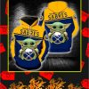 Buffalo Sabres Baby Yoda Full All Over Print Hoodie