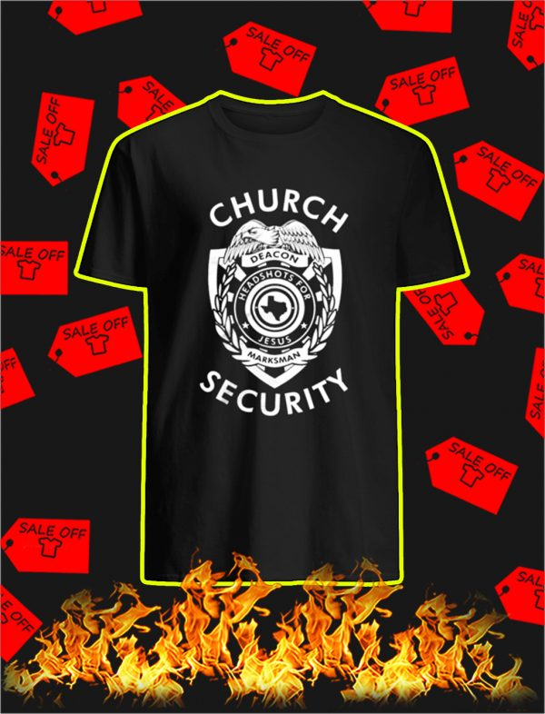 Church Security shirt