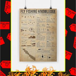 Fly Fishing Knowledge Poster