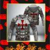 Knight Templar 3D Full Printing Hoodie