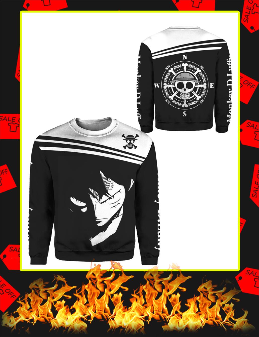 Luffy One Piece 3D Sweatshirt