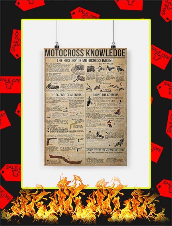 Motocross Knowledge Poster