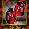 Philadelphia Phillies Mickey Mouse Full All Over Print Hoodie