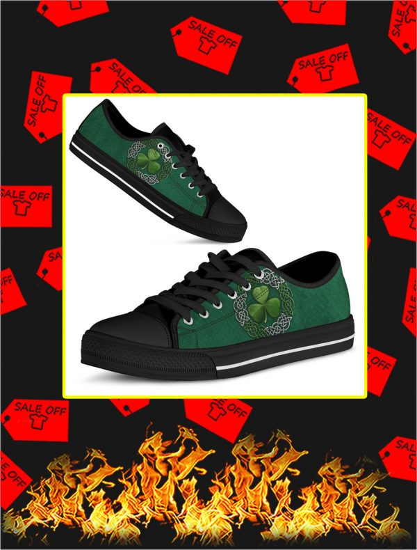 Shamrock St Patrick's Day Low Top Shoes