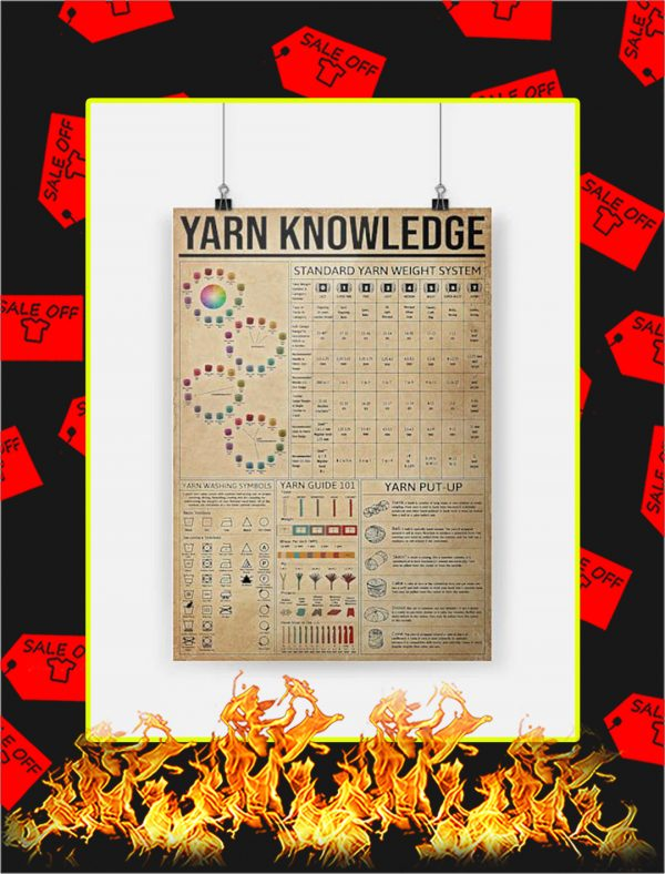 Yarn Knowledge Poster