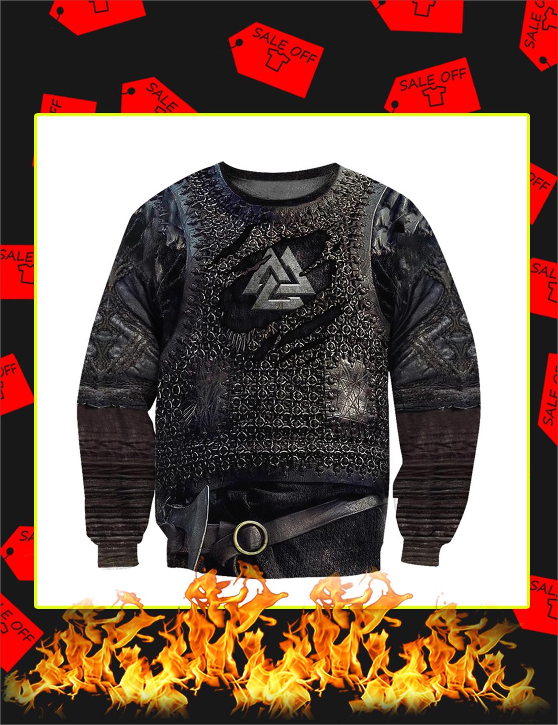 3D Printed Vikings Armor Sweatshirt