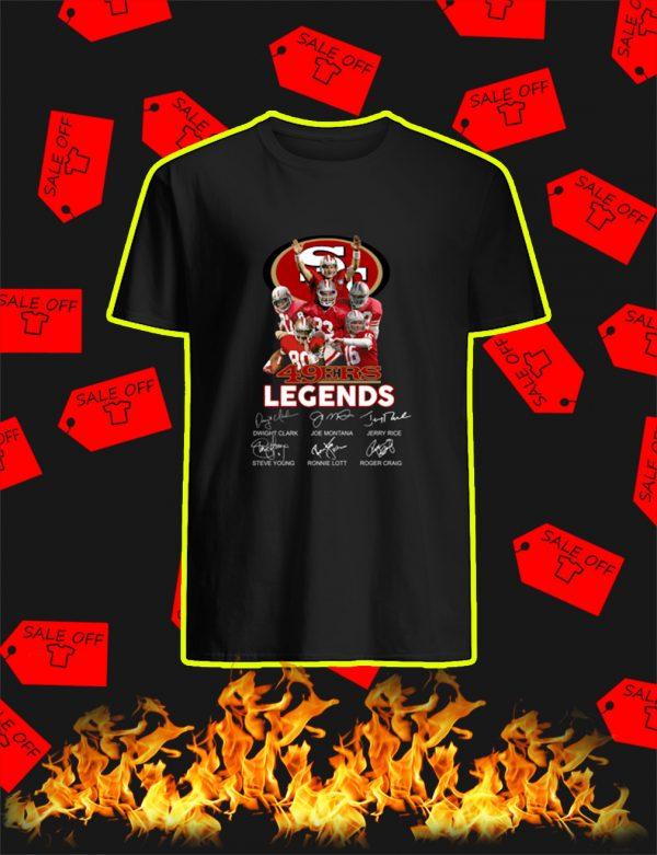 49ers Legends Signature shirt