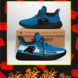 Carolina Panthers NFL Yeezy Sneaker