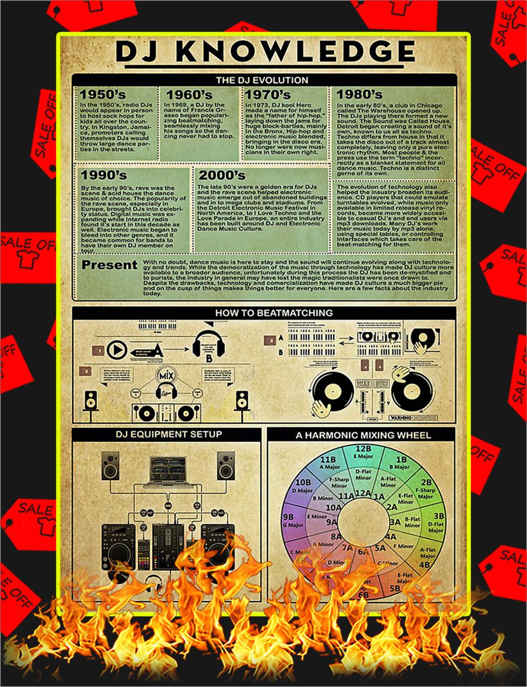DJ Knowledge Poster - A2