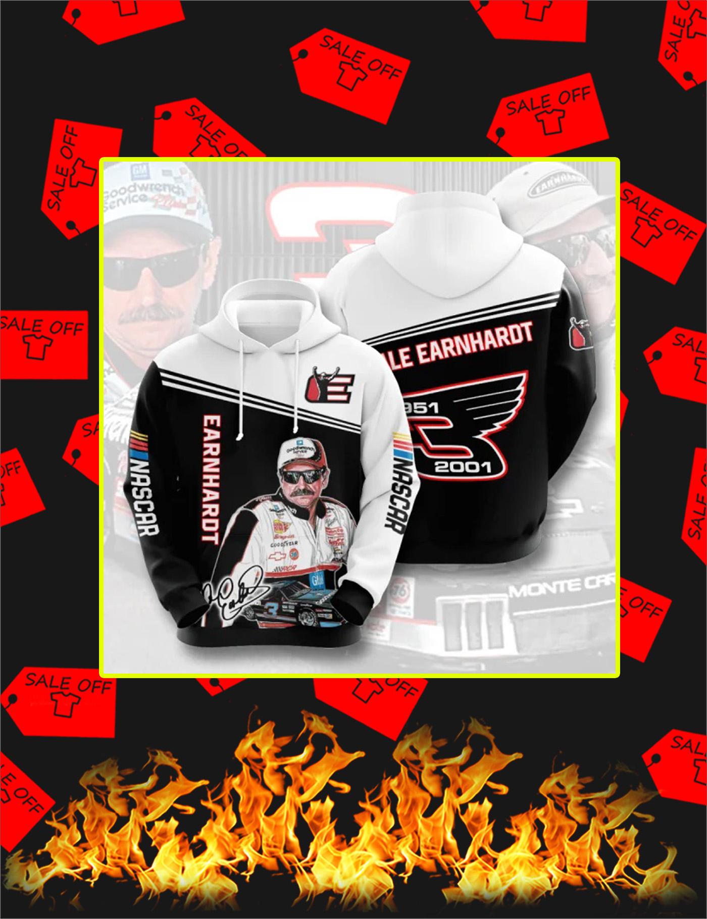 Dale Earnhardt 3D Hoodie - Size L