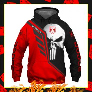Dodge Punisher Skull 3D Hoodie