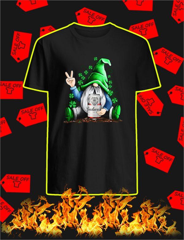 Irish Gnome Hug Budweiser St Patrick's Day shirt