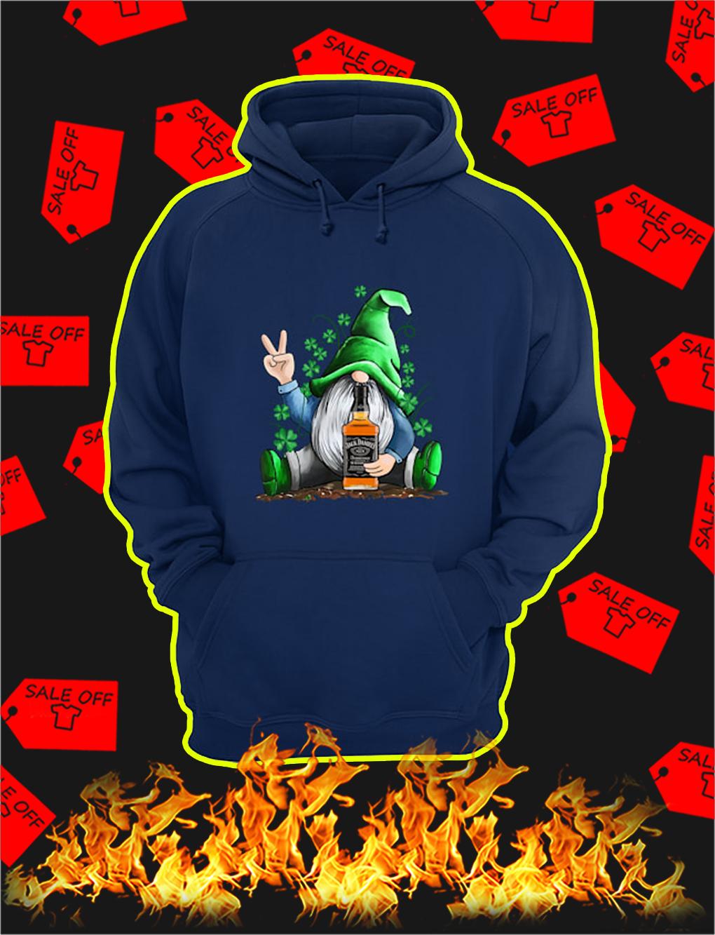 Irish Gnome Hug Jack Daniel's St Patrick's Day hoodie