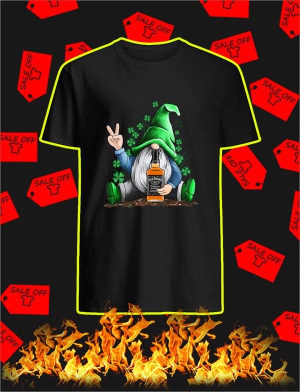 Irish Gnome Hug Jack Daniel's St Patrick's Day shirt