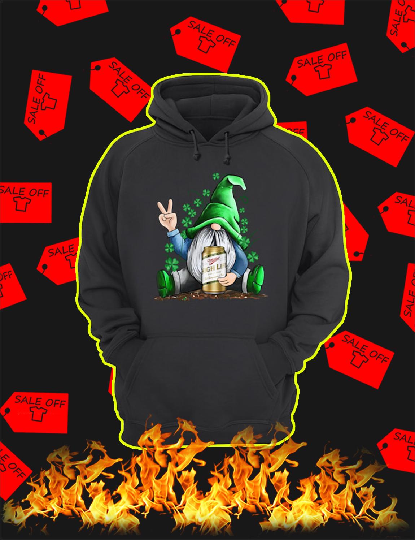 Irish Gnome Hug Miller High Life St Patrick's Day Hoodie