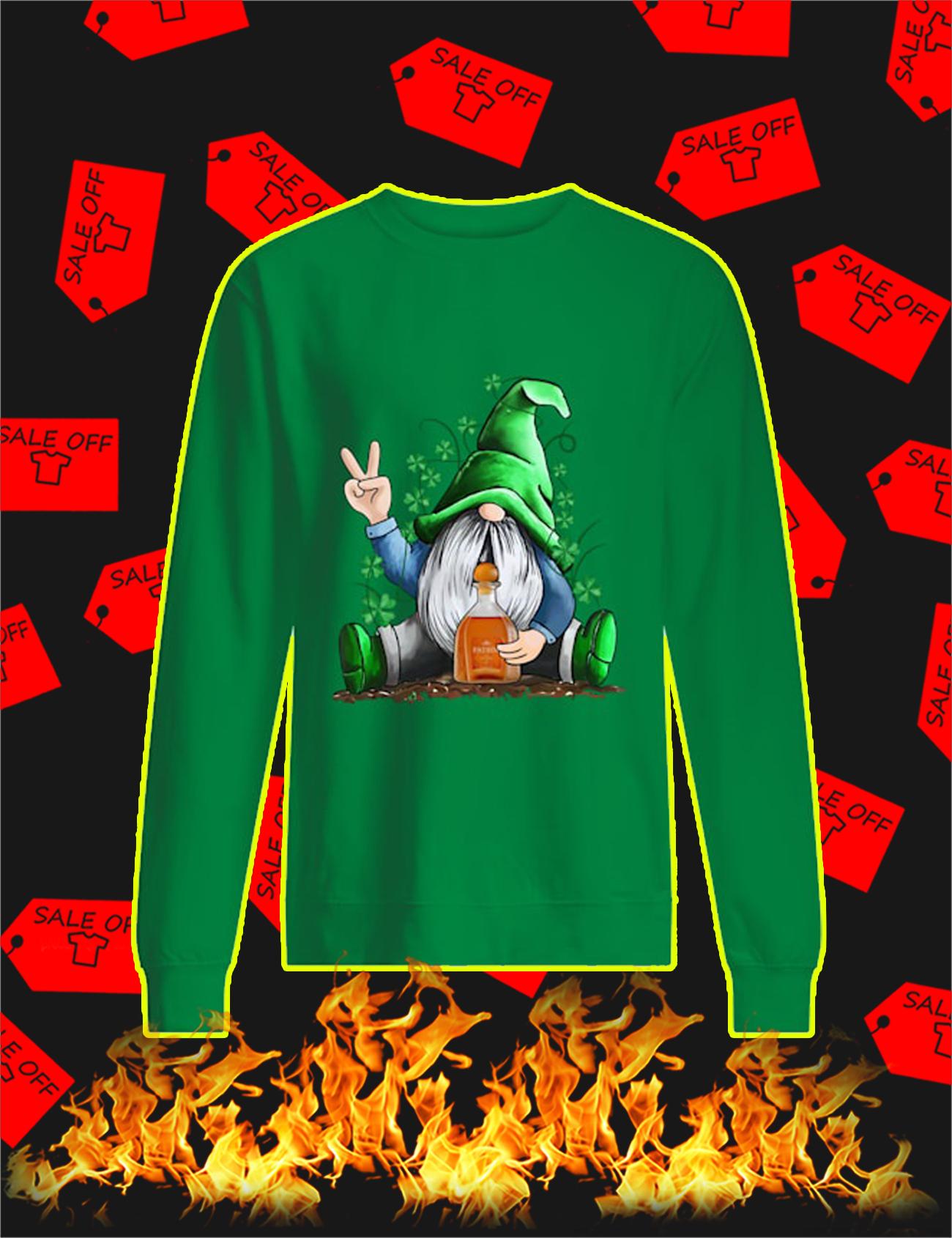 Irish Gnome Hug Patron St Patrick's Day Sweatshirt
