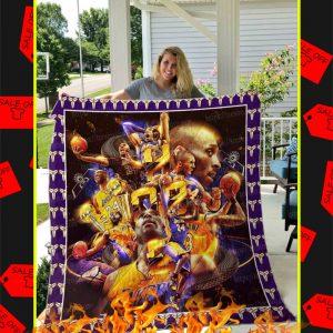 Kobe Bryant Quilt Blanket