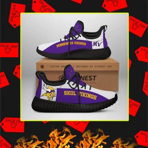 Minnesota Vikings NFL Yeezy Sneaker