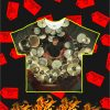 Neil Peart with Drums Unique All Over T-Shirt