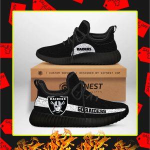Oakland Raiders NFL Yeezy Sneaker