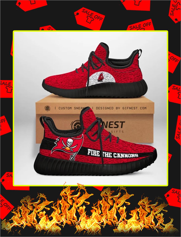 Tampa Bay Buccaneers NFL Yeezy Sneaker - black