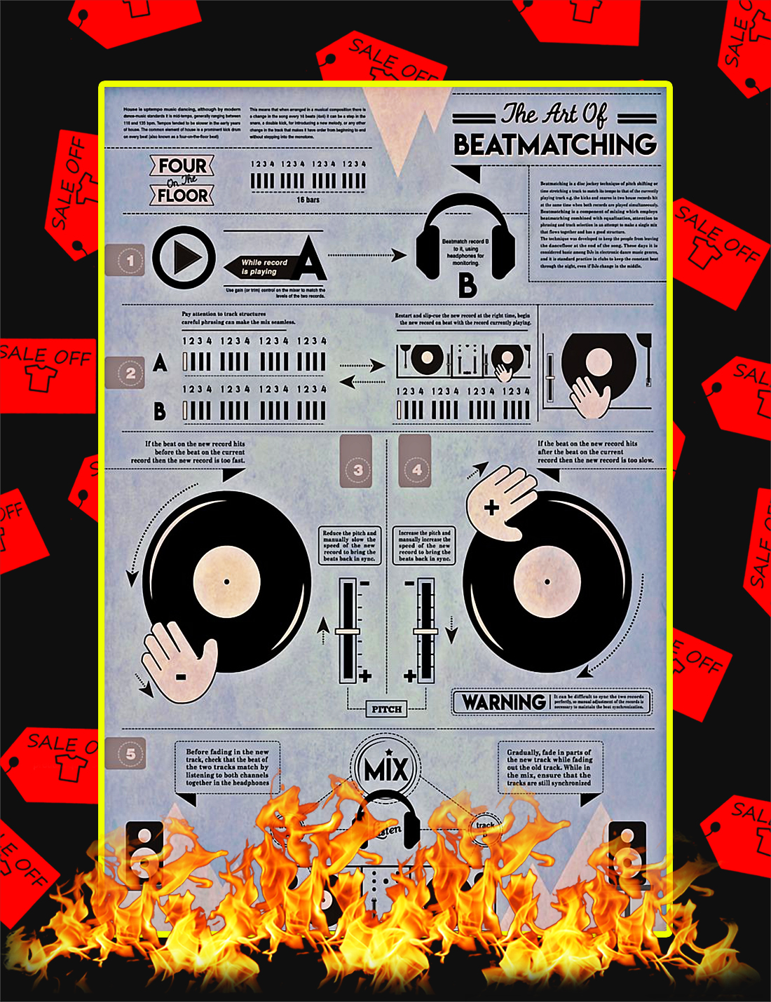 The Art Of Beatmatching Poster - 11x17
